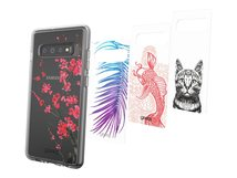 Chelsea Alpha - Collection - dekoratives Bedienfeld (Packung mit 4) - für Samsung Galaxy S10+