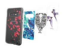 Chelsea Beta - Collection - dekoratives Bedienfeld (Packung mit 4) - für Samsung Galaxy S10e