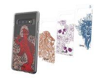 Chelsea - Collection - dekoratives Bedienfeld - Tattoo Art (Packung mit 4) - für Samsung Galaxy S10+
