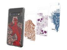 Chelsea - Collection - dekoratives Bedienfeld - Tattoo Art (Packung mit 4) - für Samsung Galaxy S10