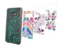 Chelsea Delta - Collection - dekoratives Bedienfeld (Packung mit 4) - für Samsung Galaxy S10e