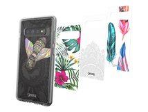 Chelsea Gamma - Collection - dekoratives Bedienfeld (Packung mit 4) - für Samsung Galaxy S10+