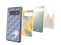 Chelsea Ombre Geo - Collection - dekoratives Bedienfeld (Packung mit 4) - für Samsung Galaxy S10+