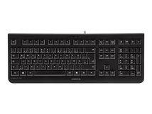 CHERRY KC 1000 - Tastatur - Französisch - Schwarz