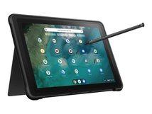 "Chromebook Detachable CZ1 CZ1000DVA-L30005 - Mit abnehmbarer Tastatur MT8183 / 2 GHz - Chrome OS - 4 GB RAM - 64 GB eMMC - 25.7 cm (10.1"") Touchscreen 1920 x 1200"