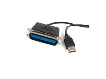 .com 1,9m USB auf Parallel Kabel - Centronics Druckerkabel/ Adpter - St/St, 1,9 m, Centronics, USB A, Male connector / Male connector, Schwarz, Windows 8 (32/64bit), 7 (32/64), Vista (32/64), XP (32/64), 2000, ME, 98SE Windows Server 2012,...