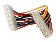 .com 20cm 24 Pin ATX 2.01 Stromverlängerungskabel - Stecker/Buchse - Spannungsversorgungs-Verlängerungskabel - ATX, 24-polig (M) bis ATX, 24-polig (W) - 20 cm