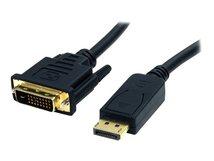 .com DisplayPort to DVI Cable - 6ft / 2m - 1920 x 1200 - M/M – DP to DVI Adapter Cable – Passive DisplayPort Monitor Cable (DP2DVI2MM6) - Videokabel - DVI-D (M) bis DisplayPort (M)
