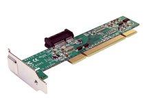 .com PCI auf PCI Express Adapter - PCI zu PCIe Karte - PCIe x1-zu-PCI-Steckplatzadapter