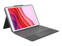 Combo Touch - Tastatur und Foliohülle - mit Trackpad - hintergrundbeleuchtet - Apple Smart connector - QWERTZ