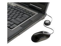Compact Blue Trace - Maus - optisch - kabelgebunden - USB - Grau, Schwarz