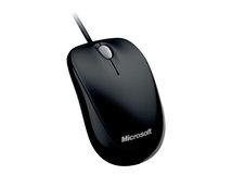 Compact Optical Mouse 500 - Maus - rechts- und linkshändig - optisch - 3 Tasten - kabelgebunden