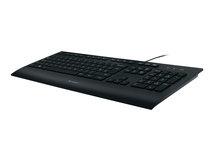 Corded K280e - Tastatur - USB - USA International