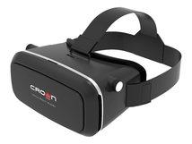 Crown Micro CMVR-07 - Virtual-Reality-Brille - von 3,5 Zoll bis 6 Zoll - Schwarz