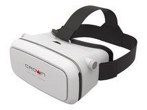 Crown Micro CMVR-07 - Virtual-Reality-Brille - von 3,5 Zoll bis 6 Zoll - weiß
