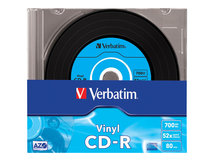 Data Vinyl - 10 x CD-R - 700 MB 52x - Slim Jewel Case