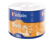 DataLife - 50 x DVD-R - 4.7 GB (120 Min.) 16x - Matt Silver - Spindel