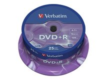 DataLifePlus - 25 x DVD+R - 4.7 GB 16x - Spindel