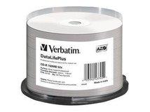 DataLifePlus - 50 x CD-R - 700 MB 52x - weiß - mit Tintenstrahldrucker bedruckbare Oberfläche, breite bedruckbare Oberfläche - Spindel