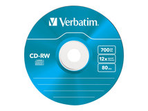 DataLifePlus Hi-Speed - 5 x CD-RW - 700 MB (80 Min) 8x - 12x - Slim Jewel Case