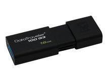 DataTraveler 100 G3 - USB-Flash-Laufwerk - 16 GB - USB 3.0 - Schwarz