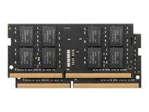 - DDR4 - Kit - 32 GB: 2 x 16 GB - SO DIMM 260-PIN - 2400 MHz / PC4-19200