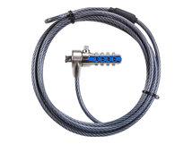 Defcon CL - Sicherheitskabelschloss - Black Nickel - 2.1 m