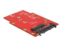 DeLOCK 1.8 Converter Micro SATA 16 Pin > M.2 NGFF - Speicher-Controller - M.2 - 1 Sender/Kanal - M.2 Card - 600 MBps