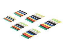 Delock Heat Shrink Tube Set (108 pieces) - Wärmeschrumpfschlauch-Kit - 4 cm - diverse Farben