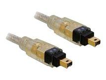 DeLOCK - IEEE 1394-Kabel - FireWire, 4-polig (M) bis FireWire, 4-polig (M) - 2 m