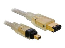 DeLOCK - IEEE 1394-Kabel - FireWire, 6-polig (M) bis FireWire, 4-polig (M) - 2 m