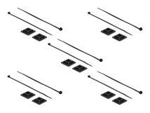 DeLOCK - Kabelbinderhalterung - Schwarz