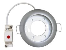 DELOCK LIGHTING type B - Einbaufassung - 1 Sockel - GX53 - weiß