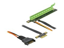 DeLOCK PCI Express x1 to x16 with flexible cable - Riser Card
