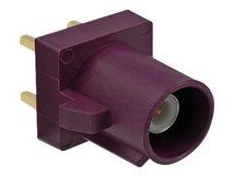 Delock - RF-Anschluss - FAKRA D-Anschluss Stecker - Claret Violet, RAL 4004