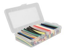 Delock - Wärmeschrumpfschlauch-Kit - Schwarz, weiß, Blau, Gelb, Rot, grün, durchsichtig