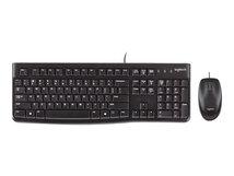 Desktop MK120 - Tastatur-und-Maus-Set - USB - Französisch