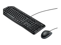 Desktop MK120 - Tastatur-und-Maus-Set - USB - QWERTY - USA International