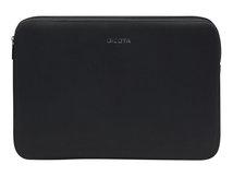 """DICOTA PerfectSkin Laptop Sleeve 14.1"""" - Notebook-Hülle - 35.8 cm (14.1"""") - Schwarz"""