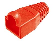 DIGITUS Professional A-MOT/R 8/8 - Netzwerk-Cable-Boots - Rot