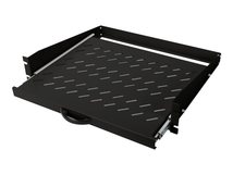 "DIGITUS Professional DN-19-TRAY-2-450-SW Extendible - Rack - Regal - Schwarz, RAL 9005 - 2U - 48.3 cm (19"")"