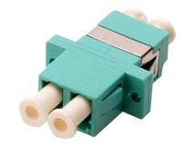 DIGITUS Professional - Netzwerkkoppler - LC Multi-Mode (W) bis LC Multi-Mode (W) - Glasfaser - Aquamarin