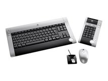 diNovo Cordless Desktop for Notebooks - Tastatur-und-Maus-Set - kabellos - RF - Deutsch