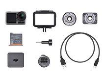 DJI Osmo Action - Action-Kamera - montierbar - 4K / 60 BpS - 12.0 MPix - Wi-Fi, Bluetooth