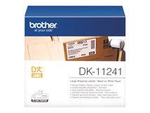 DK-11240 - Schwarz auf Weiß - 51 x 102 mm 600 Etikett(en) Versandetiketten - für Brother QL-1050, QL-1050N, QL-550