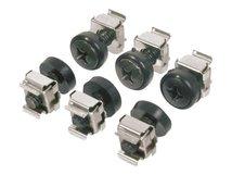 """DN-19 SET - Schrauben, Muttern und Unterlegscheiben für Rack - 48.3 cm (19"""") (Packung mit 50) - für P/N: DN-19 07U-6/6, DN-19 09U-6/6, DN-19 12U-6/6, DN-19 16U-6/6, DN-19 20-U, DN-19 20U-6/6"""