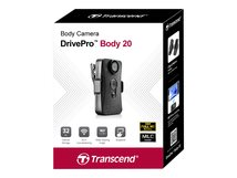 DrivePro Body 20 - Camcorder - 1080p / 30 BpS - Flash 32 GB - interner Flash-Speicher - Wi-Fi
