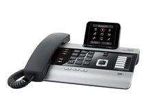 DX800A all in one - Schnurgebundenes Telefon / VoIP-Telefon / ISDN-Telefon - Anrufbeantworter mit Rufnummernanzeige/Anklopffunktion - DECTGAP - SIP - mehrere Leitungen