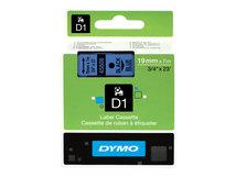 DYMO D1 - Selbstklebend - Schwarz auf Blau - Rolle (1,9 cm x 7 m) 1 Rolle(n) Etikettenband - für LabelMANAGER 360, 400, 420, 450, 500, PC, PC2, Wireless PnP; LabelPOINT 300, 350