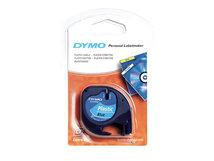 DYMO LetraTAG - Kunststoff - Blau - Rolle (1,2 cm x 4 m) 1 Rolle(n) Band - für LetraTag LT-100H, LT-100T, QX50, XR